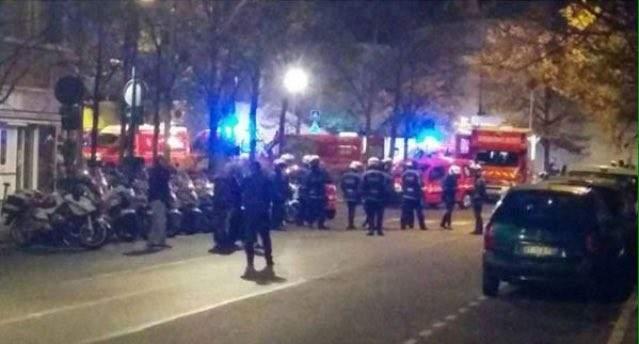 جرح شرطيين في اطلاق نار في جادة الشانزيليزيه في باريس