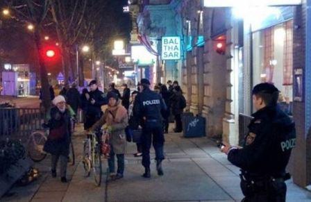هجومان بالسكاكين في فيينا ووقوع اصابات..