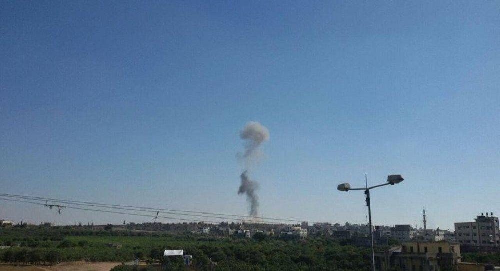 سلاح الجو الإسرائيلي يقصف عدة مواقع في غزة