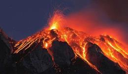 تسجيل صوت ظاهرة بركانية مرعبة!