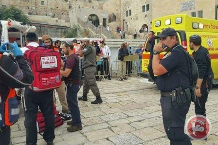 استشهاد تركي بعد تنفيذه عملية طعن في القدس
