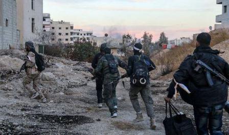 اتفاق لإجلاء مسلحين من حرستا بالغوطة الشرقية