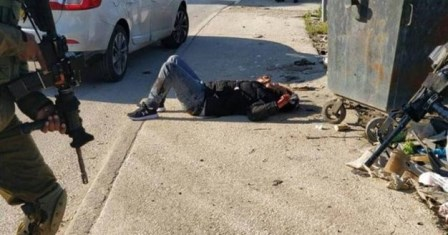 استشهاد شاب فلسطيني برصاص مستوطن جنوب نابلس