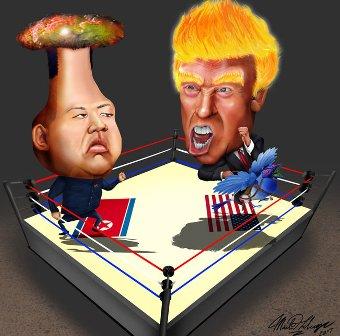 الولايات المتحدة وكوريا الشمالية... قصة الذئب الخائف من الحمل