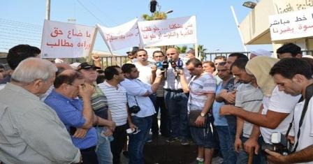 السلطة تردّ على اعتصام الجيّة: استدعاء ناشطين إلى التحقيق
