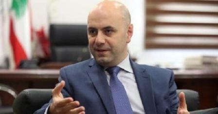 حاصباني: لإدراج مرسوم تطبيق سلسلة الرتب للمستشفيات الحكومية على جدول اعمال جلسة الحكومة المقبلة