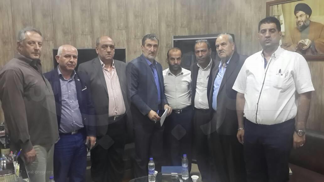 لقاء الاحزاب والقوى الوطنية والقومية والفصائل الفلسطينية في البقاع الاوسط