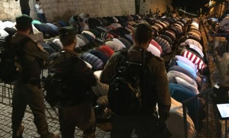 يوم غضب فلسطيني نصرة للقدس والأقصى