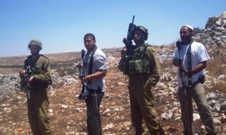 المستوطنون يعربدون بالضفة ويعتدون على الفلسطينيين