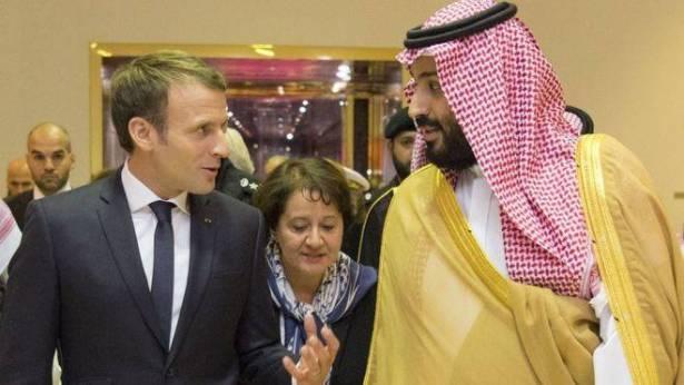 ست مليارات دولار من محمد بن سلمان الى الرئيس ماكرون للمشاركة بضرب سوريا