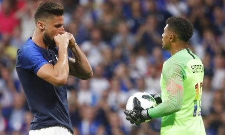 استعدادا للمونديال: فرنسا تقع بفخ التعادل أمام أميركا