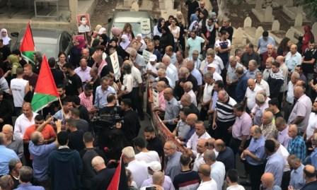 مسيرة ومهرجان مركزي في جت المثلث إحياء لذكرى شهداء هبة القدس والأقصى