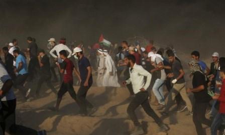 غزة تشيع 7 شهداء والضفة الشهيدة الرابي