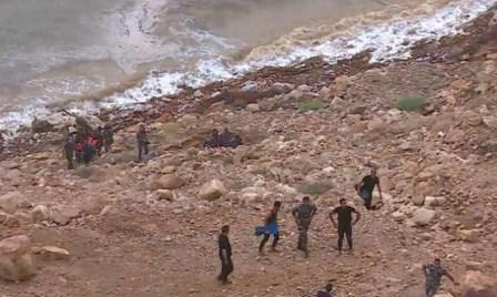 الأردن: مصرع 17 شخصًا بسيول في منطقة البحر الميت