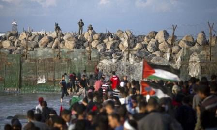 قطاع غزة: شهيد شرقي المغازي بنيران الاحتلال