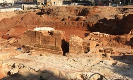 مديرية الآثار تزيل سور بيروت الروماني تدمير منهجي يمحو تاريخ العاصمة