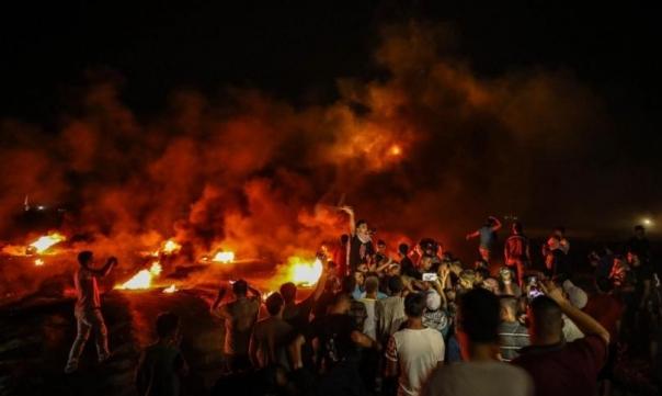 طيران الاحتلال يشن غارتين على غزة وإصابات بـ