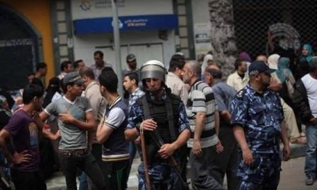 أمن غزة يقمع تظاهرتين ضد الغلاء في القطاع