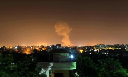مدفعية الاحتلال تقصف جنوبي غزة