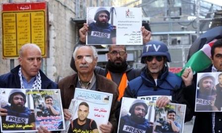 17 انتهاكا للاحتلال بحق الصحافيين الفلسطينيين خلال أكتوبر