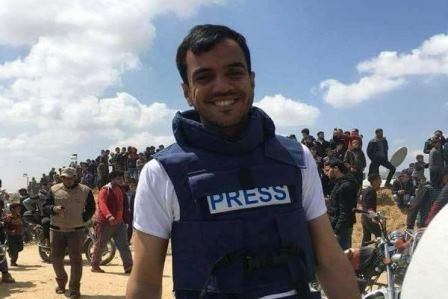 الاحتلال الإسرائيلي يقتل صحافياً فلسطينياً