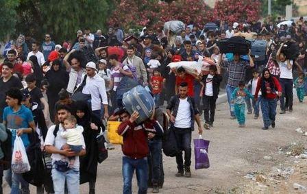 مئات النازحين في حاصبيا وشبعا يعودون اليوم الى سوريا
