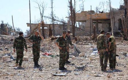 الجيش السوري يستعيد السيطرة على القلمون الشرقي