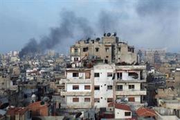 إعتداءات إرهابية بالقذائف في حمص