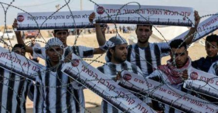 العدو الاسرائيلي يعتزم منع الأسرى الفلسطينيين من مشاهدة مباريات كأس العالم