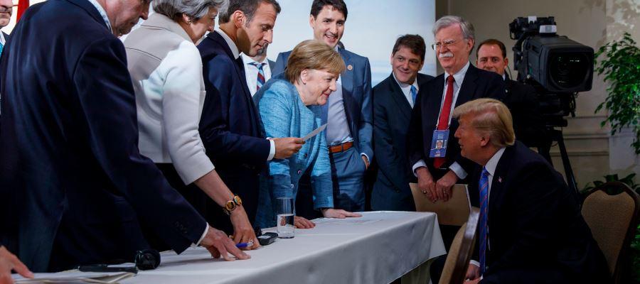 إجراءات انتقامية من دول الاتحاد الأوروبي ضدّ ترامب