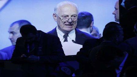 الدول الضامنة تجتمع مع دي ميستورا في جنيف لبحث التسوية السورية