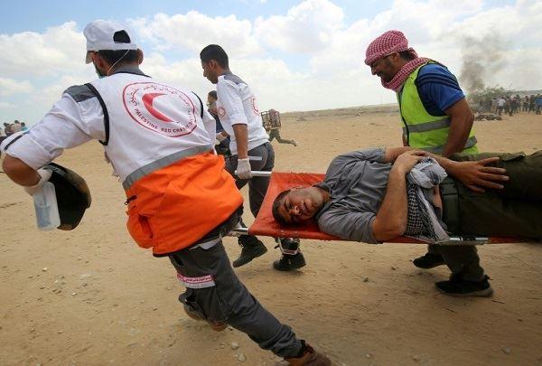 استشهاد فلسطيني في غزة متأثرًا بإصابته برصاص الإحتلال