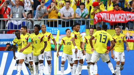 كولومبيا تتفوق على البرازيل والارجنتين