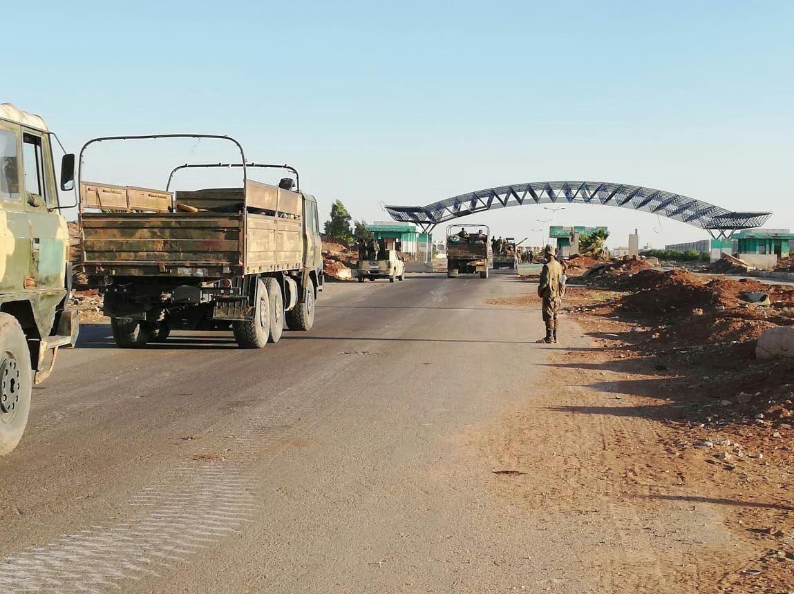 الجيش السوري يؤمّن طريق دمشق- عمان الدولي بالكامل