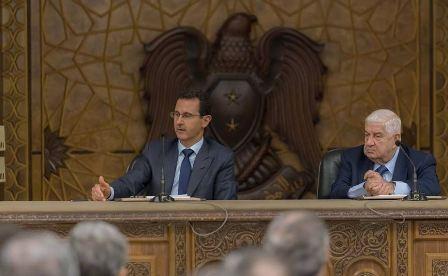 الأسد: إعادة الإعمار وعودة اللاجئين هي أولى الأولويات