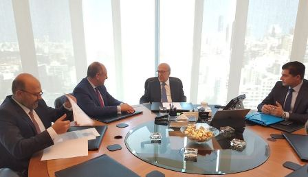 بو عاصي يبحث موضوع قروض الإسكان مع رئيس جمعية المصارف