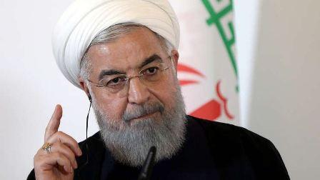 روحاني: لا نسعى لتوتير الوضع لكننا لن نتخلى عن صادراتنا النفطية