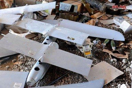 بالصور: طائرات من العدو الإسرائيلي إلى مسلحي درعا!