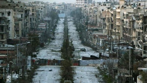 الحكومة السورية تطلق خطة إعادة إعمار حلب