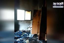 بالفيديو: عائلة مؤلّفة من 7 أفراد تنجو من الموت بأعجوبة في صور