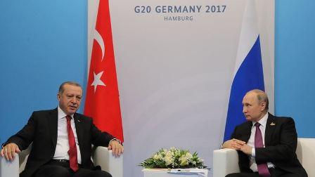 الكرملين يكشف تفاصيل لقاء بوتين وأردوغان