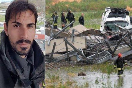 نجاة حارس المرمى الأسبق دافيد كابيلو في مأساة انهيار جسر جنوى الإيطالية