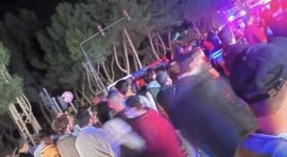 جريح بحادث صدم على دوار العربي في صيدا