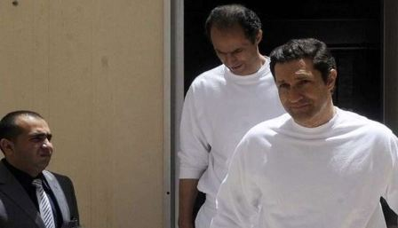 السلطات المصرية تعتقل علاء وجمال نجلي مبارك