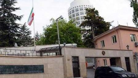 طهران تنفي إخلاء سفارتها في أنقرة لوجود تحذير من عملية تفجير