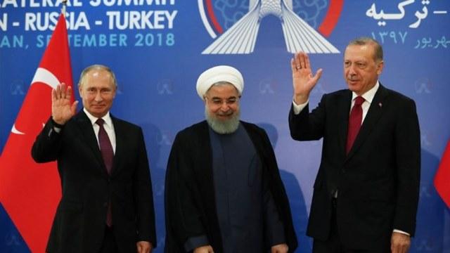 اتفاق روسي تركي إيراني على تسريع تشكيل اللجنة الدستورية السورية