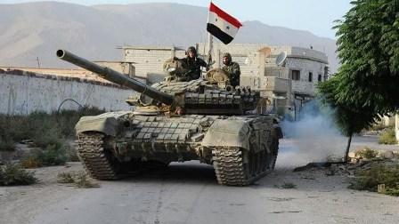 مقتل ضابط في الجيش السوري وإصابة عسكريين بصواريخ أميركية في سهل الغاب