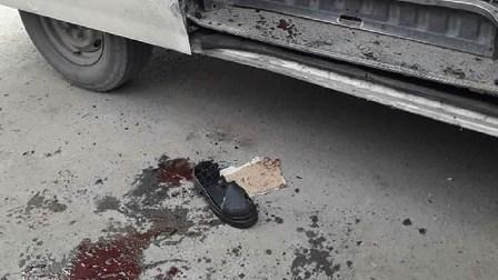 انفجار في حافلة نقل عامة في حمص
