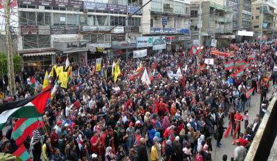 اللبنانيون يستقبلون 2019 بمسيرات وتظاهرات واحتجاجات شعبية عارمة؟.