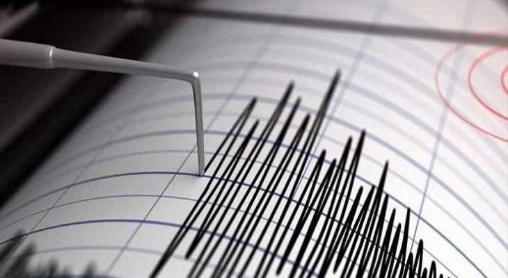 زلزال بقوة 6.3 ضرب منطقة المحيط الهادئ شمال شرق اليابان